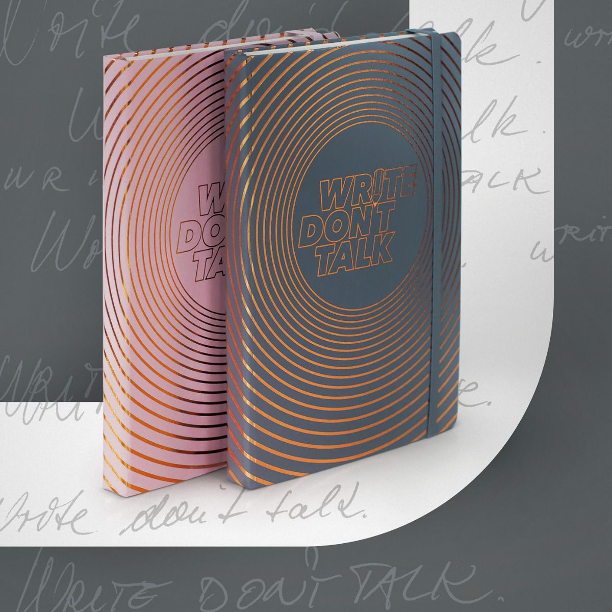 Carnet de notes Write, don't talk