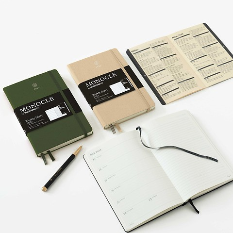 Weekly Diary Monocle by LEUCHTTURM1917