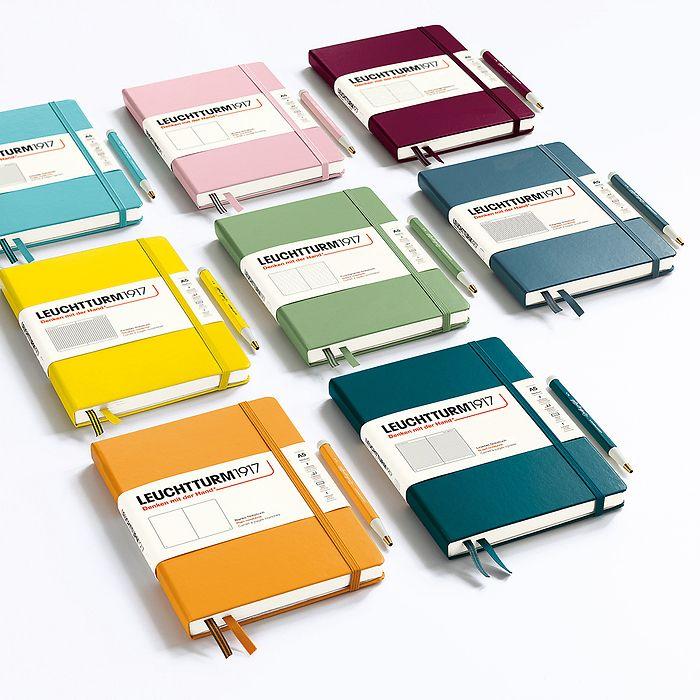 Carnet de notes Medium (A5), Couverture rigide, 251 pages num., Warm Earth, ligné