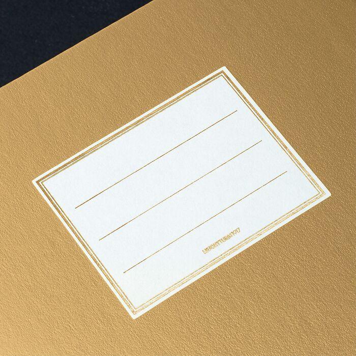Carnet Metallic Edition